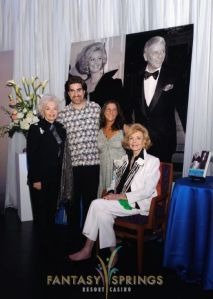 Carly with Barbara Streisand