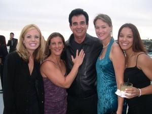 Carly with Tony Taradino