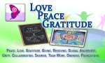 Love Peace Gratitude